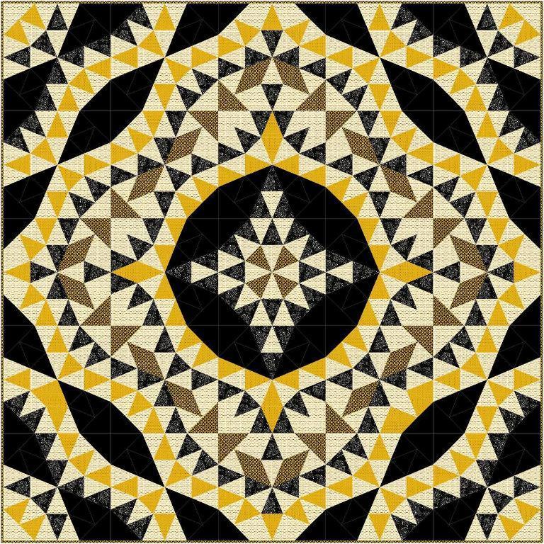 Free Quilt Pattern: Small Wonders Kaleidoscope