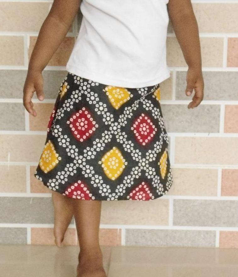 free sewing pattern a line skirt with elastic waist band