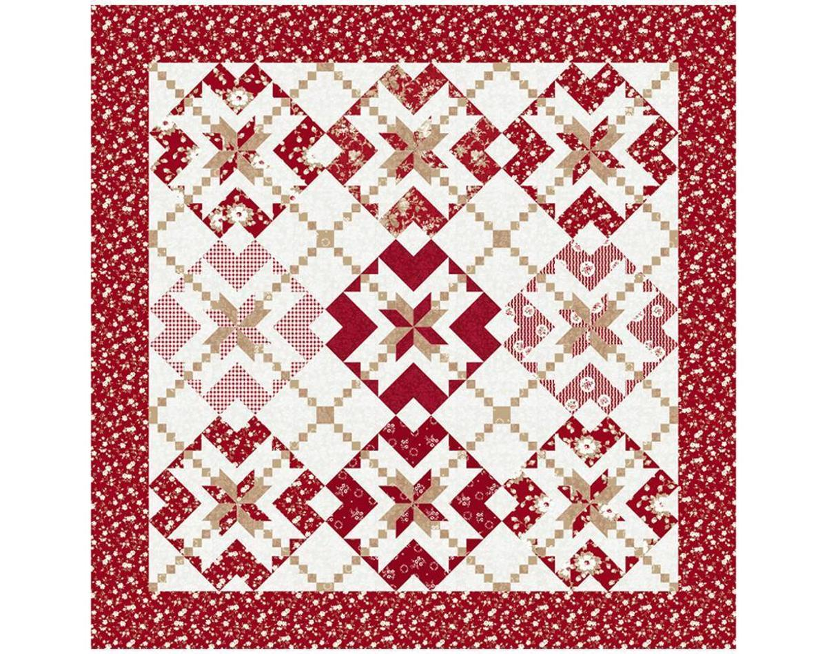Free Quilt Patterns With Hearts : Free Quilt Pattern: With All My Heart