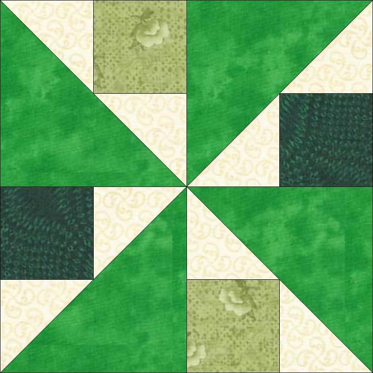 Mini Quilt Block Template Set : Free Quilt Pattern: Emma s Miniature Block of The Month 10