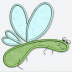 Free Embroidery Design:  Cute Bug