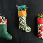 Free Sewing Pattern:  Simple Holiday Stocking