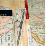 Free Sewing Pattern:  DIY Passport Wallet