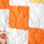 Free Quilt Pattern:  Falling Blocks Baby Quilt