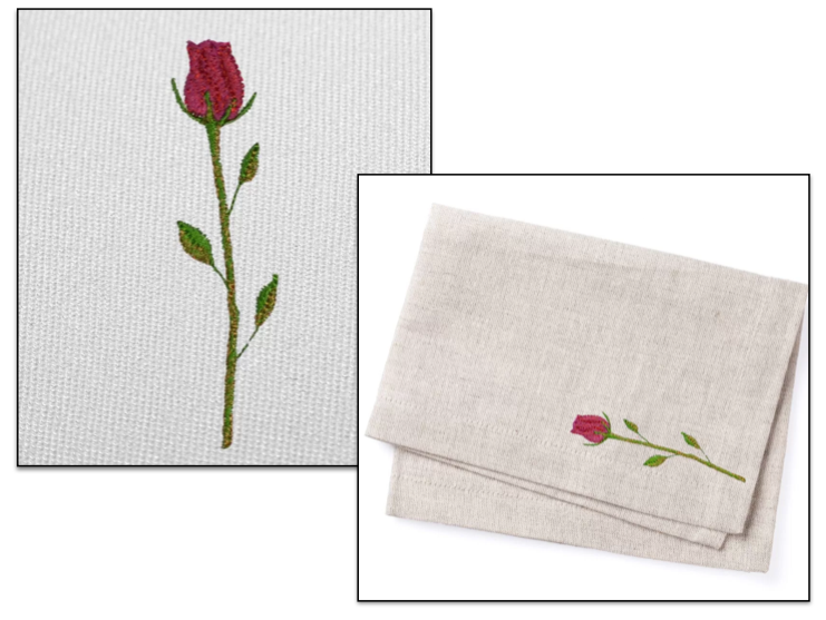 Free embroidery design simple rose i sew