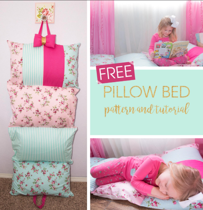 Free Sewing Pattern Pillow Bed I Sew Free