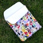 Free Sewing Pattern:  Baby Nap Mat