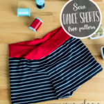 Free Sewing Pattern:  Girls Dance Shorts