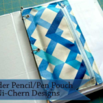 Free Sewing Pattern:  3-Ring Binder Pouch