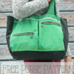 Free Sewing Pattern:  Winter Purse Pattern