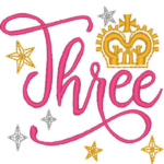 Free Embroidery Design:   Princess – Three