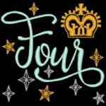Free Embroidery Design:  Princess – Four