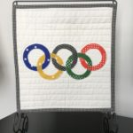 Free Quilt Pattern:  Olympic Rings Mini