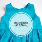 Free Sewing Pattern:  Simple Girls Dress
