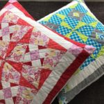Free Embroidery Design:  Windmill Floor Cushion Covers