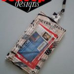 Free Sewing Pattern:  Shopping List & Coupon Holder