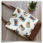 Free Sewing Pattern:  The Catch All Tote