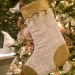 Free Quilt Pattern:  Christmas Stocking with Bells Tutorial