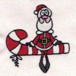 Free Embroidery Design:  Santa