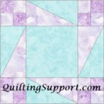 Free Quilt Pattern:  Winter Drive