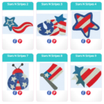 Free Embroidery Designs:  Stars N Stripes