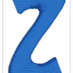 Free Embroidery Design:  Letter Z