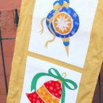Free Quilt Pattern:  Christmas Ornament Table Runner