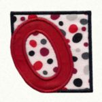 Free Embroidery Design:  Number Block