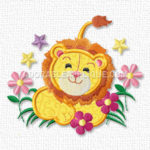 Free Embroidery Design:  Lion