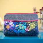 Free Sewing Pattern:  The Curvy Clutch