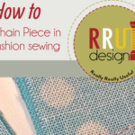 Free Sewing Tutorial:  Chain Piecing for Fashion Sewing