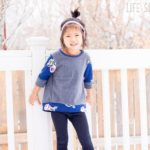 Free Sewing Pattern:  Sweatshirt Tunic