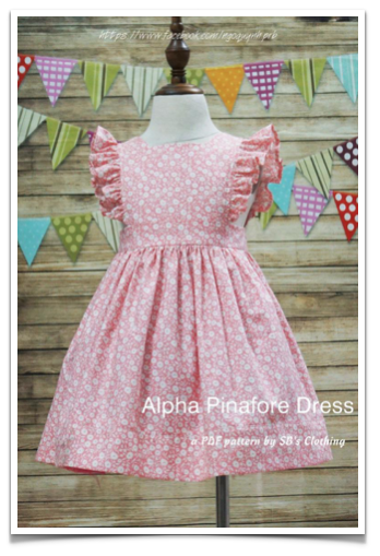 Free Sewing Pattern: Alpha Pinafore Dress | I Sew Free