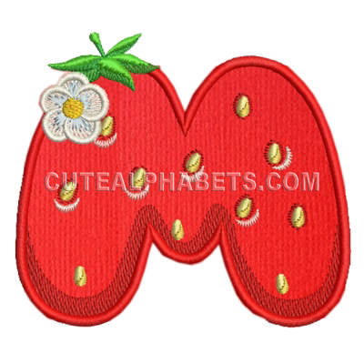 Free Embroidery Design Letter M I Sew Free