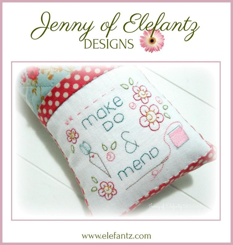 Free Hand Embroidery Pattern Make Do I Sew Free
