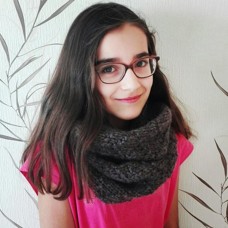 Free Knitting Pattern Happy Snood I Sew Free