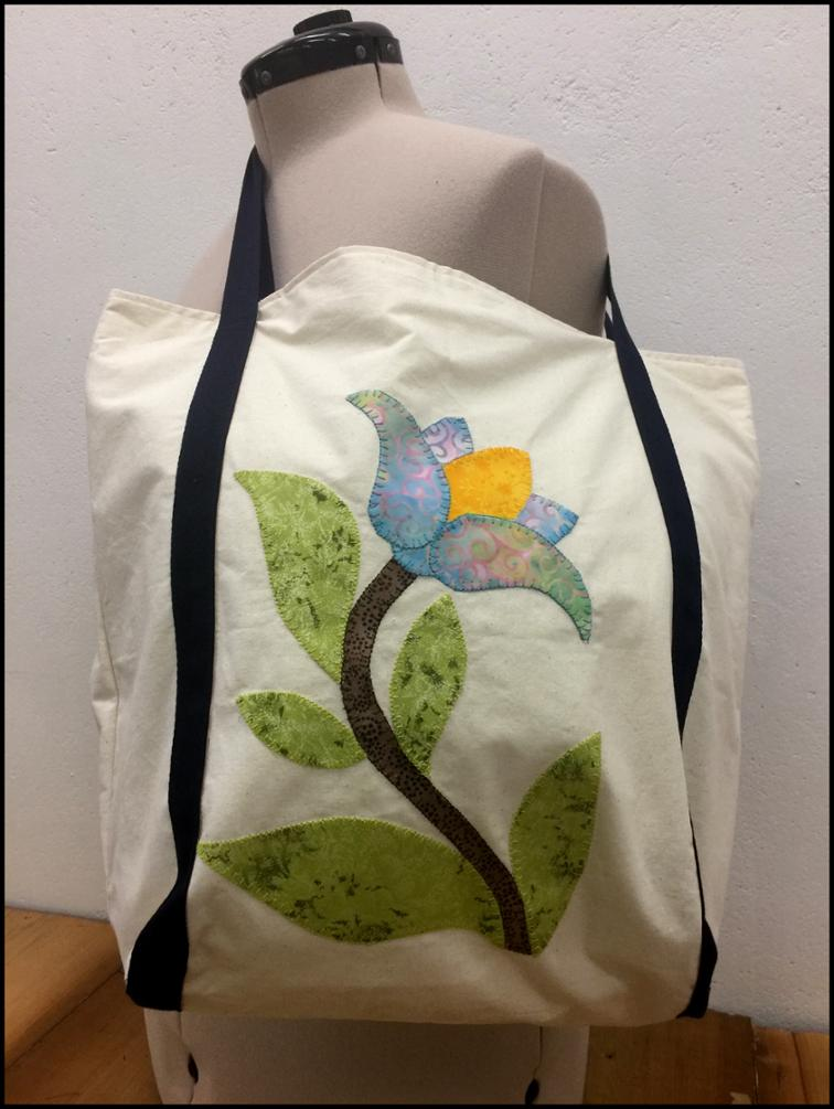 Free Sewing Pattern Springtime Tote Sewing Project I Sew Free