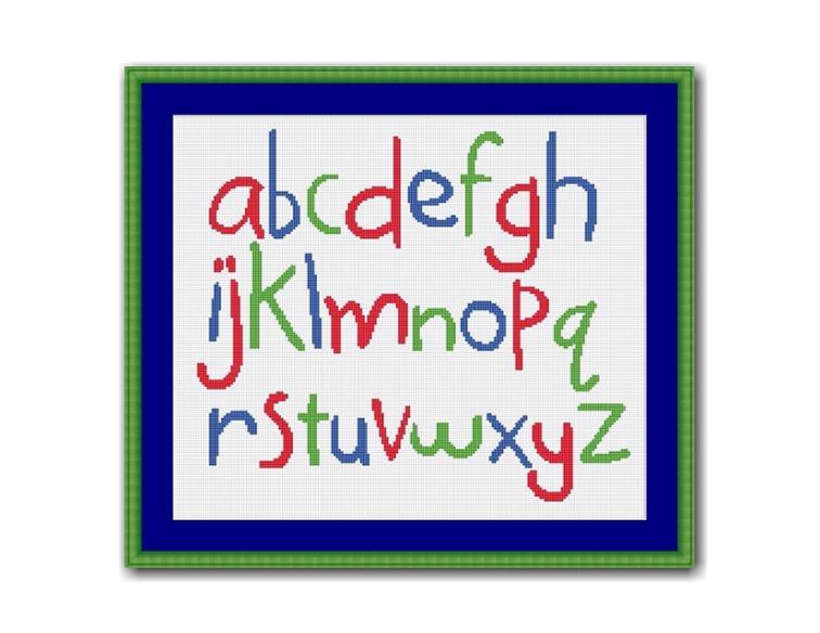 Free Hand Embroidery Pattern Alphabet I Sew Free