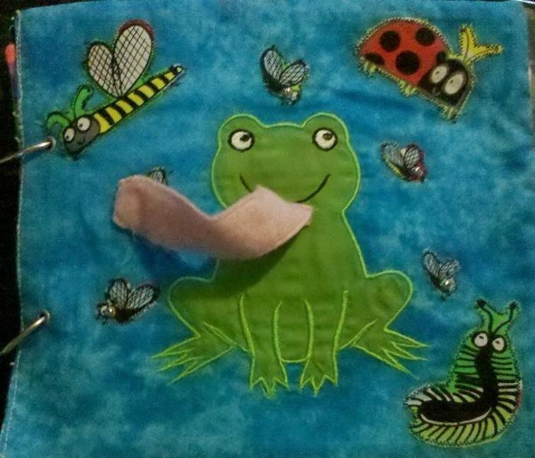 Free Embroidery Design Frog Applique I Sew Free