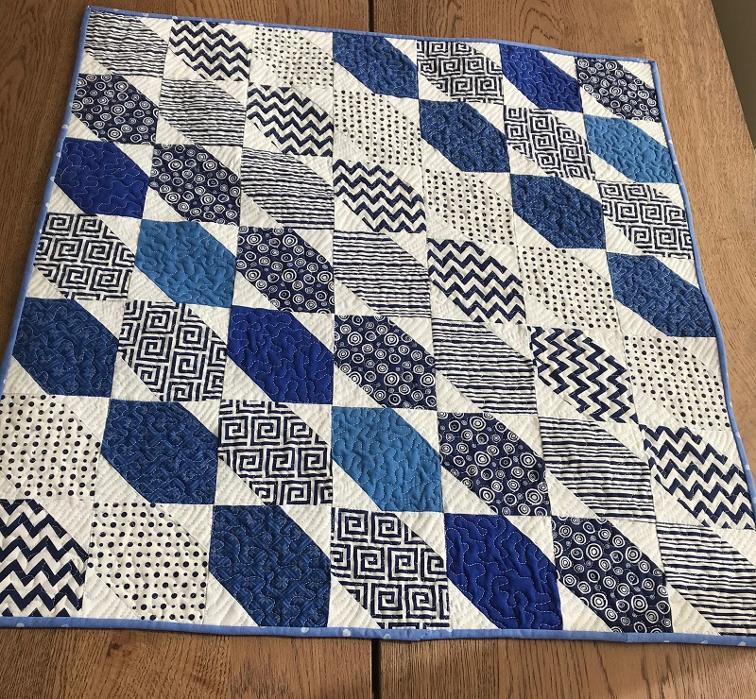Free Quilt Pattern Seaside Baby Quilt I Sew Free