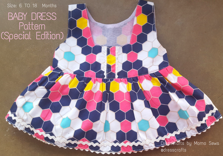 Free Sewing Pattern Baby Dress I Sew Free