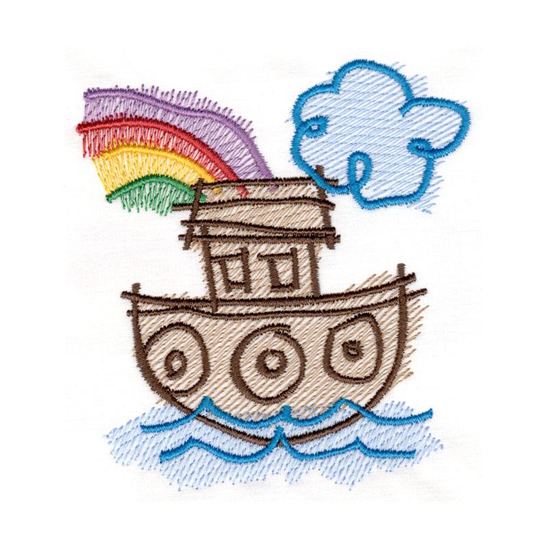 Free Embroidery Design Noah S Ark I Sew Free