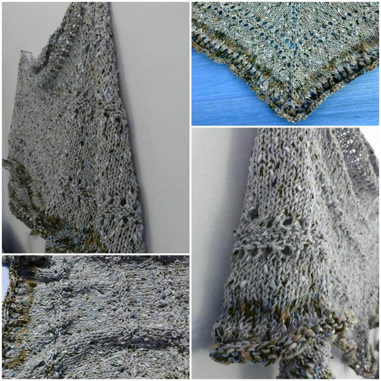 Free Knitting Pattern Karista Triangular Scarfshawlette I Sew Free
