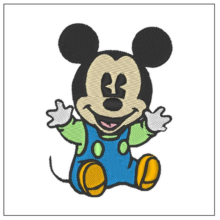 Free Embroidery Design Mickey Mouse I Sew Free