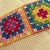 Free Hand Embroidery Pattern:  Cross Stitch Granny Square Pattern