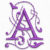 Free Embroidery Design:  Purple Alphabet – Letter A