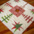 Free Quilt Pattern:  Quilted Christmas Tree Skirt