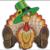Free Embroidery Design:  Thanksgiving Turkey