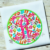 Free Embroidery Design:  Circle Satin Stitch Machine Embroidery Applique