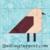 Free Quilt Pattern:  Bird
